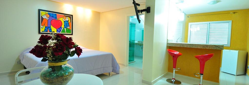 Biss Inn - Goiânia - Bedroom