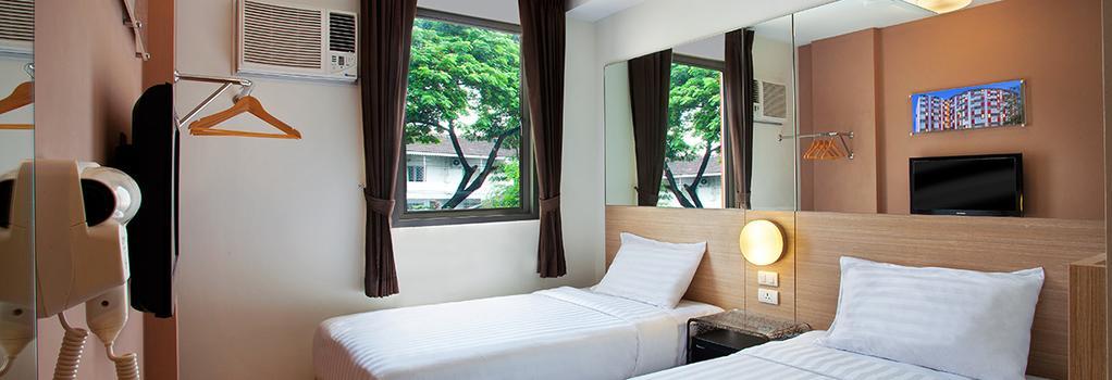 Red Planet Pattaya - Pattaya - Bedroom