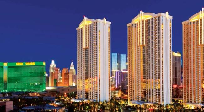 Aaa 1 Bedroom Suite At The Signature Condo Hotel - Las Vegas - Building