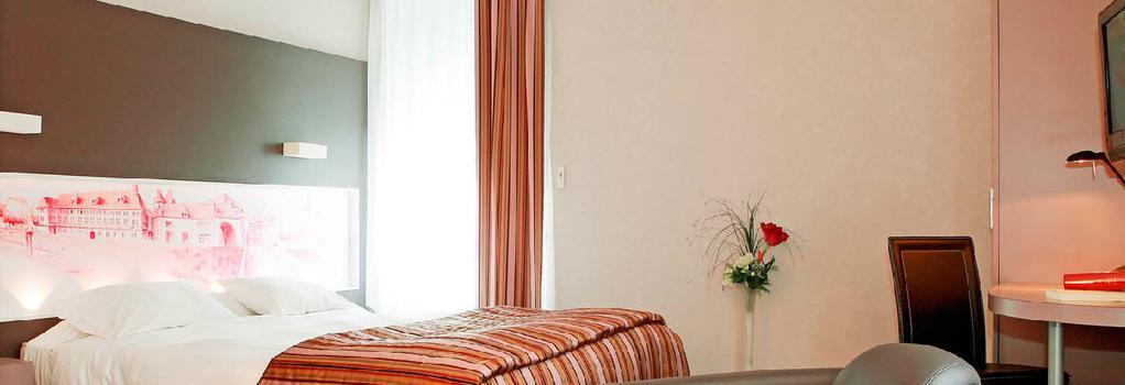 Citotel De la Cloche - Dole - Bedroom