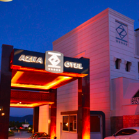 Azka Hotel Hotel Front - Evening/Night