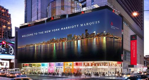 New York Marriott Marquis - New York - Bangunan