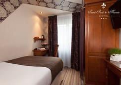 Hotel Saint Paul Le Marais - Paris - Kamar Tidur