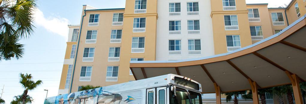 Fairfield Inn and Suites by Marriott Orlando at SeaWorld - Orlando - Building