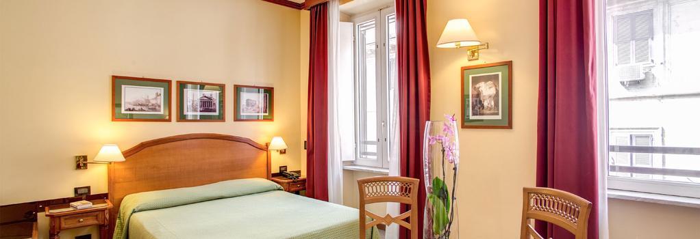 Hotel Milani - Rome - Bedroom