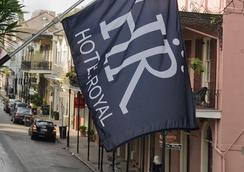 Hotel Royal - New Orleans - Pemandangan luar