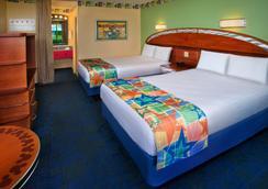 Disney's All-Star Sports Resort - Lake Buena Vista - Kamar Tidur