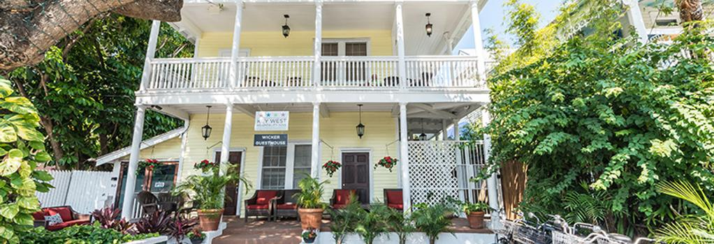 The Wicker Guest House - Key West - Building