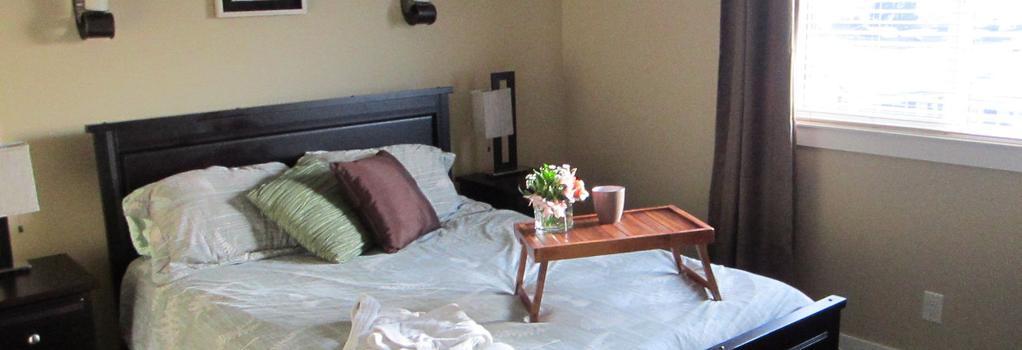Winedownhere - Kelowna - Bedroom