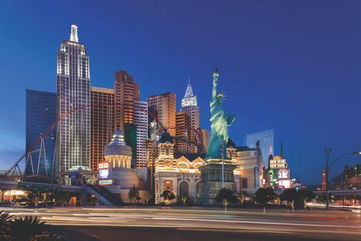 New York-New York Hotel & Casino - Las Vegas - Bangunan