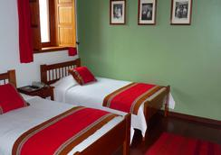 B&B-Hotel Pension Alemana - Cuzco - Kamar Tidur