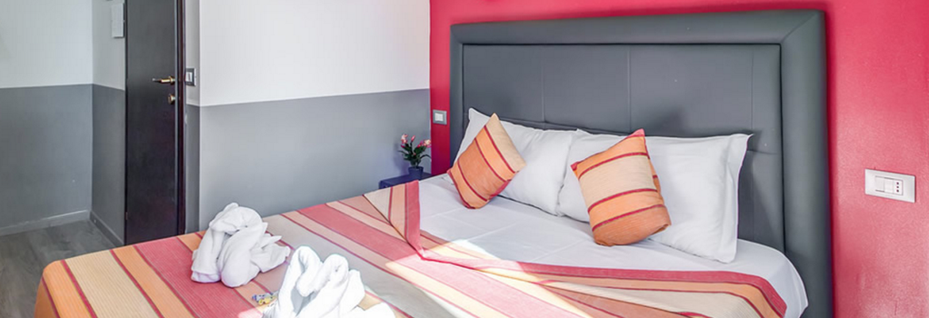 MF Hotel - Rome - Bedroom