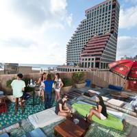 Hayarkon 48 Hostel All year open rooftop