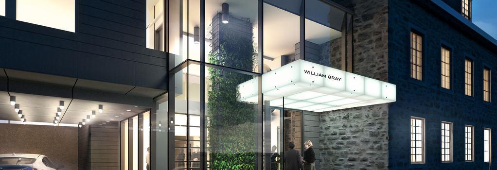 Hotel William Gray - Montreal - Building
