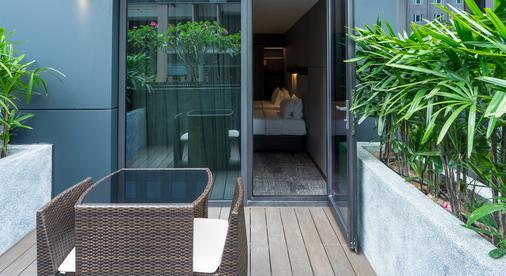 30 Bencoolen - Singapura - Balkon