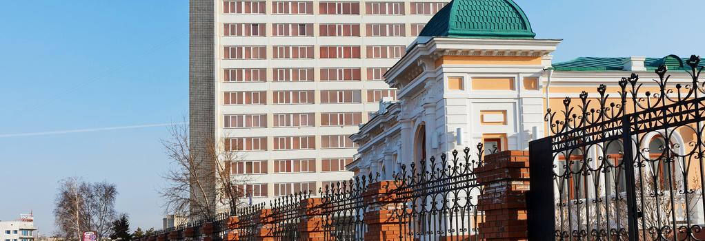 Tourist - Omsk - Building