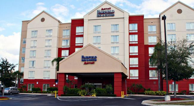 Fairfield Inn and Suites by Marriott Orlando Near Universal Orlando Resort - Orlando - Building