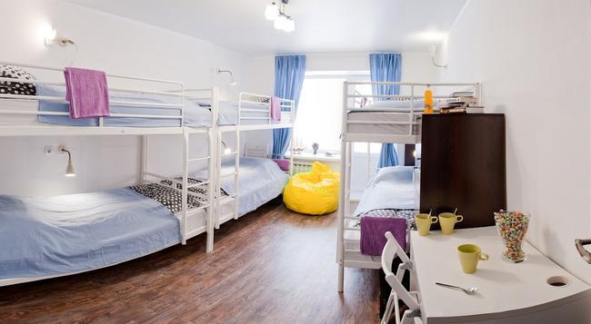 Athens Hostel - Tomsk - Bedroom