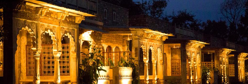 Neemrana's - Deo Bagh - Gwalior - Building