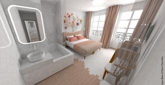 Le Lapin Blanc - Paris - Kamar Tidur