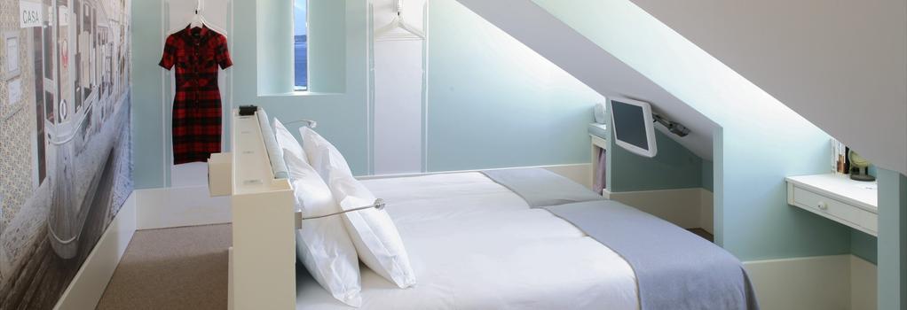 LX Boutique Hotel - Lisbon - Bedroom