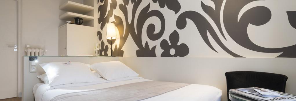 Hôtel Bastille - Paris - Bedroom