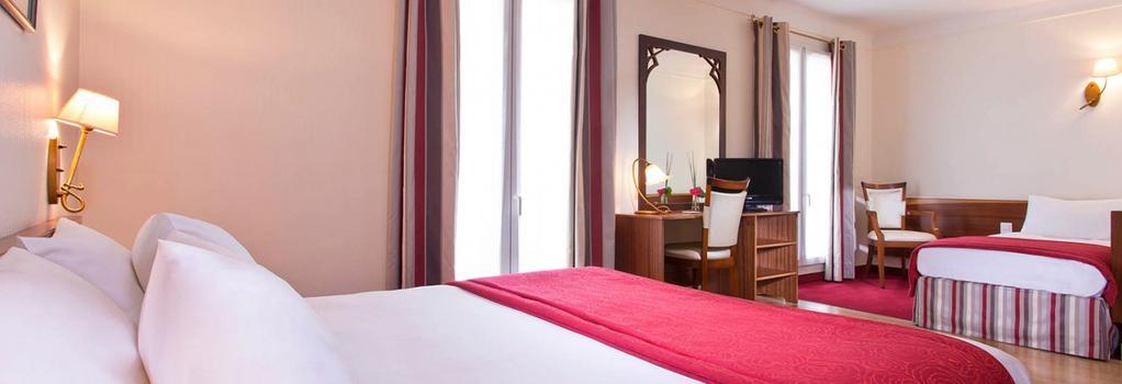 Grand Hotel des Balcons - Paris - Bedroom