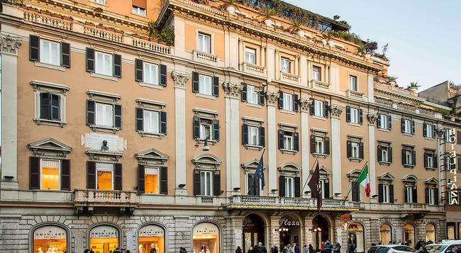 Grand Hotel Plaza - Rome - Building
