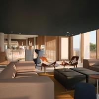 Hotel Od Talamanca Lobby Sitting Area