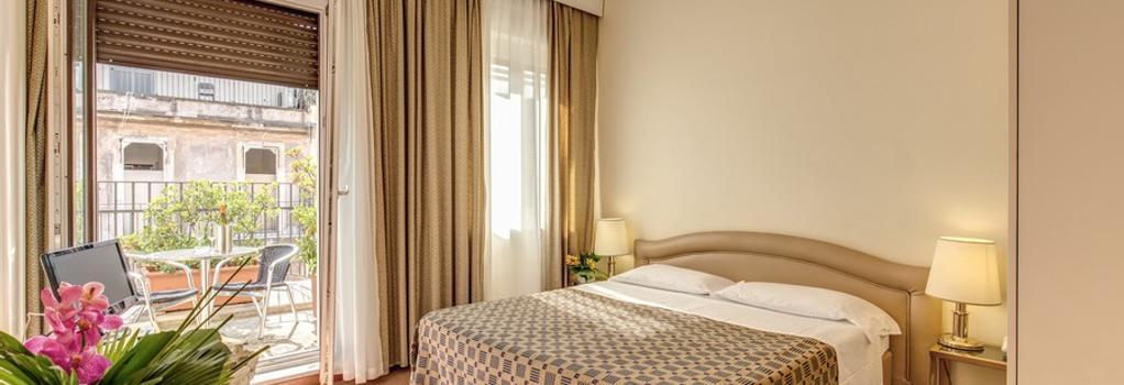 Hotel King - Rome - Bedroom