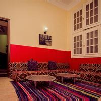 Horus Eye Hostel Living Area