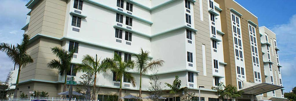 SpringHill Suites by Marriott Miami Downtown Medical Center - Miami - Building