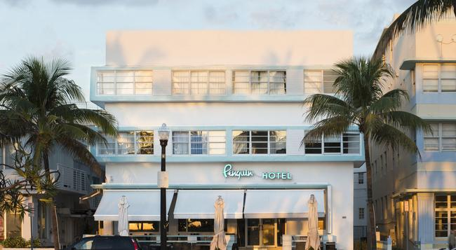 Penguin Hotel - Miami Beach - Building