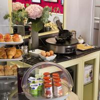 Hotel Design Sorbonne Breakfast Area