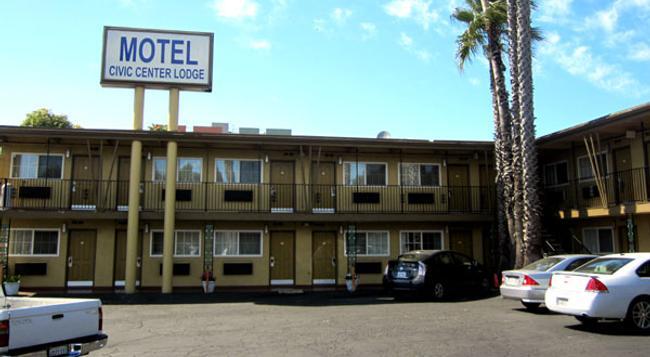 Civic Center Lodge / Lake Merritt Bart - Oakland - Building