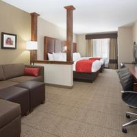 Comfort Suites Living Area