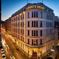 Fleming's Deluxe Hotel Wien-City Hotel Front - Evening/Night