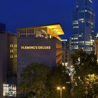 Fleming's Deluxe Hotel Frankfurt-City Hotel Front - Evening/Night