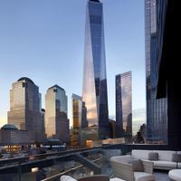 Courtyard New York Downtown Manhattan / World Trade Center Area Terrace/Patio