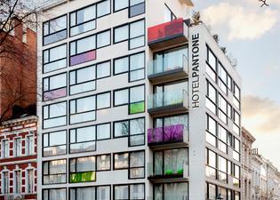 The Pantone Hotel Brussels