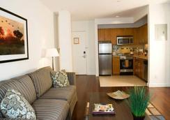 Oakwood 6th Avenue - New York - Ruang tamu