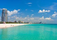 San Juan Hotel - Miami Beach - Pemandangan luar