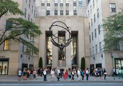 The Jewel Facing Rockefeller Center - New York - Bangunan